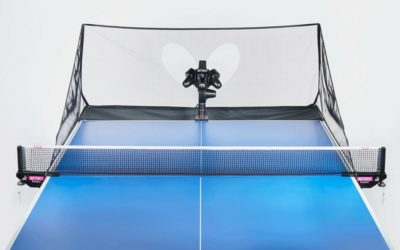 Games Using Table Tennis Robots For The Community